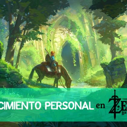 El crecimiento personal en The Legend Of Zelda: Breath Of The Wild